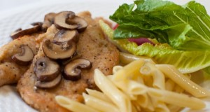 For a Light Dinner Try Chicken Marsala
