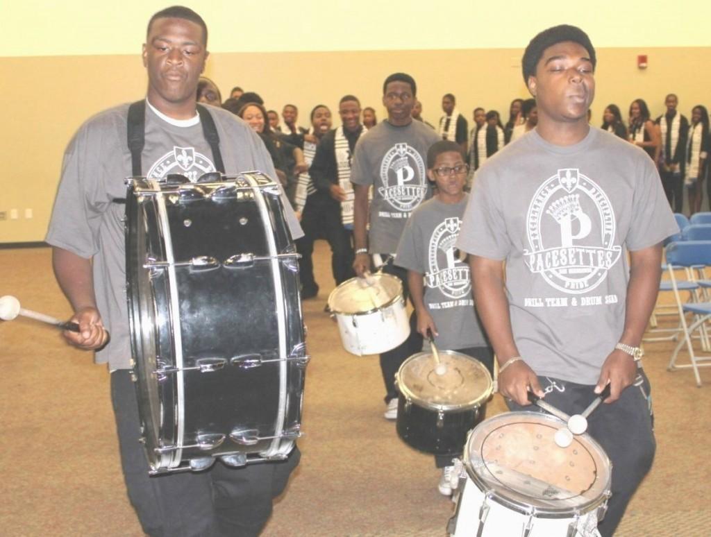 Pacesetters Drum Squad