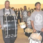 Pacesetters Drum Squad Lead the 'Beat of Success' for IEABSE's 2013 High School Grads