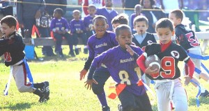 Register Now thru July 15 Pee Wee Flag Football Offered by City of San Bernardino Parks and Recreation