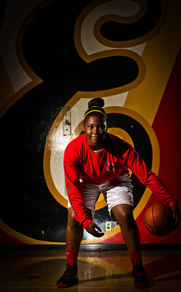 Amy Okonkwo of Etiwanda High School has been named to the Inland Valley Daily Bulletin's All-Valley Girl's Basketball First Team. Okonkwo is also the player of the year. Thomas Cordova/Staff photographer (Thomas R. Cordova)