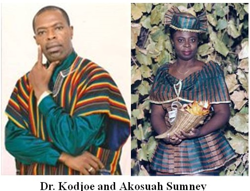 Dr. Kodjoe and Akosuah Sumney