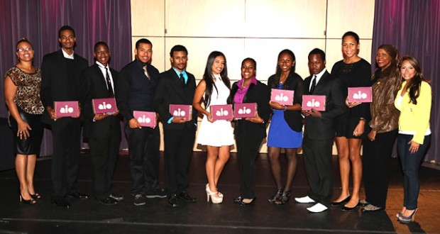 AMAN, Inc. Students Receive College Scholarships and  Tablets from Aio Wireless