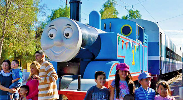 Thomas the Tank Engine Returns to the Inland Empire