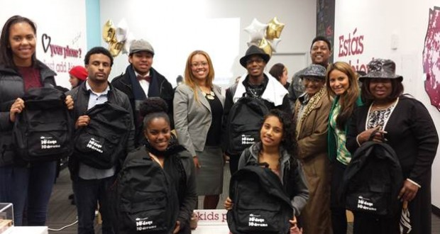 "Aio Wireless hosts rap session ""Moving Black History Forward"" with students from A-MAN, Inc."