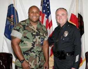 Christopher Jordan Dorner was a former LAPD police officer and United States Navy Reserve officer who was charged in connection with a series of shooting attacks on police officers and their families from February 3–12, 2013.