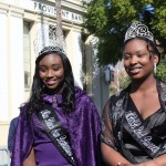 2014 Ms Black San Bernardino, Noelle Lilley, & Runner Up, Bobbie McFerson. (Photo Credit John Coleman)