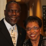 Darren Parker, Chair, African American Caucus, California Democratic Party & Cheryl Brown