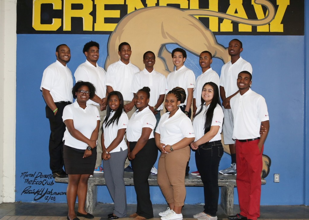Crenshaw High Student Bankers photo