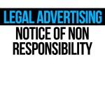 nonresposibility