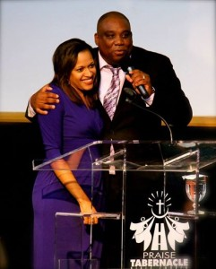 Pastor and First Lady of Praise Tabernacle