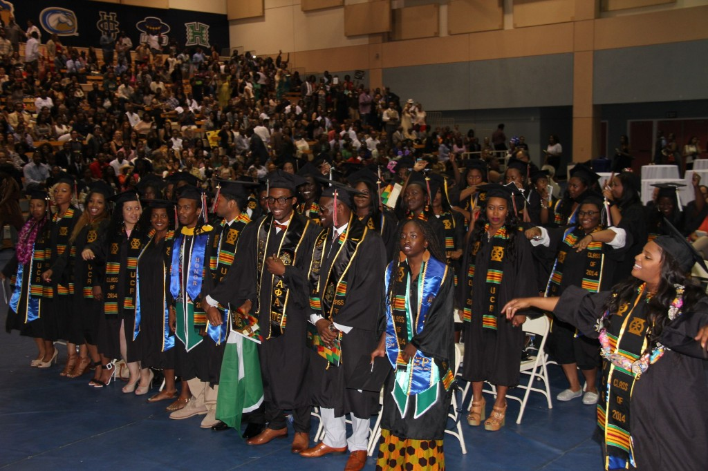 University of California Riverside (UCR) Black Grad (Photo Credit: John Coleman)