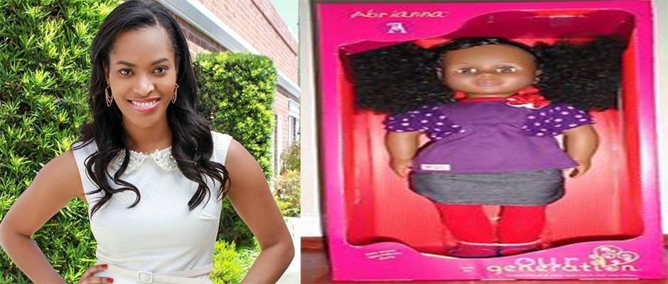 Misee Harris (left) calls out OUR GENERATION Dolls and TARGET for racism and discrimination