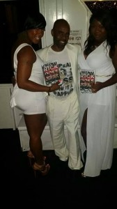 The Real Freeway Rick Ross with a couple of the ladies