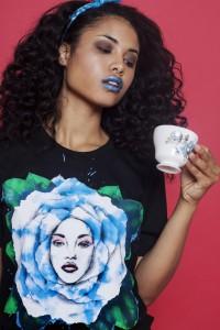 Wonderland Dreams shirt in Blue