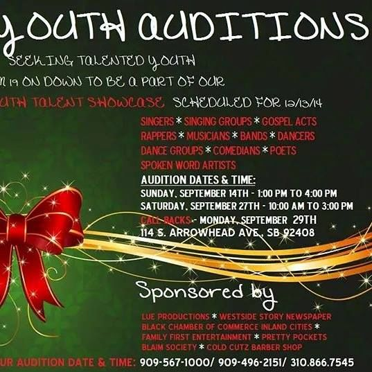 YOUTH HOLIDAY TALENT SHOWCASE