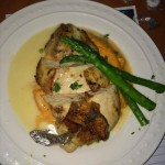 main entree by Chef Lanoris Brown