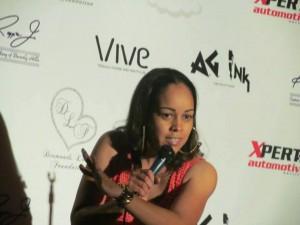 Comedian Tamiko Kirkland