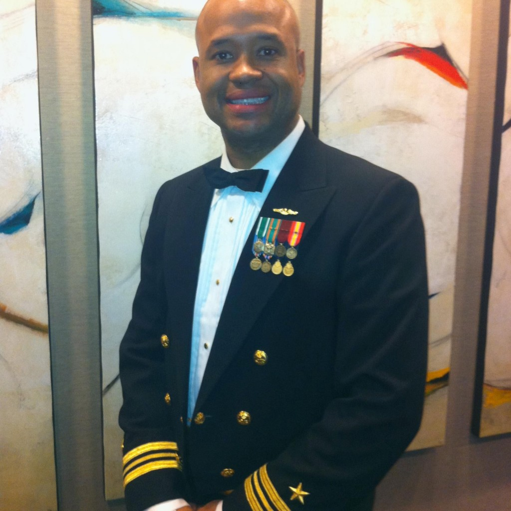 Lt. Cmdr. Robert Crosby