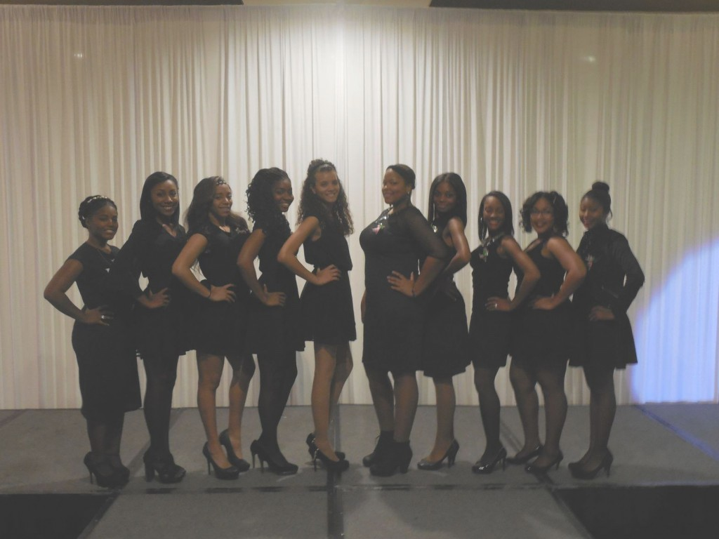 Alpha Kappa Alpha Sorority Incorporated, Eta Nu Omega Chapter 2014/2015 Debutante Candidates