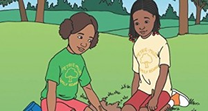 Sophie and Lelah Celebrate Juneteenth