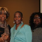 Veatrice Jews, Secretary, IECAAC;    Beverly Jones-Wright, Breakfast/Event Chair;   Vickie Lee Nichols, Mistress of Ceremonies.