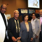 "Keith Lee, received the ""Beyond the Boundaries"" Award;   Ratibu Jaycocks received The ""Gertrude Wetzel Award"":   Former Assemblymember, Wilmer Amina Carter;   & Rene' & Reggie Webb, whose 'Webb Family Enterprises' was a 'gold level' event sponsor."