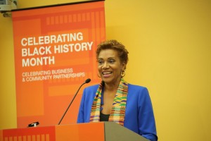 "Bonnie Boswell, a reporter, producer, commentator and talk-show host, served as keynote speaker during Southern California Edison's recent Black History Month event focused on ""Celebrating Business and Community Partnerships"" with the theme of ""Giving Back.""  She is executive producer of ""The Powerbroker: Whitney Young's Fight for Civil Rights,"" a film about her uncle that first lady Michelle Obama presented at the White House during the 50th anniversary celebration of the March on Washington."