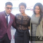 Quincy Brown, Brandice Henderson and Vanessa Simmons (Photo Credit: Naomi K. Bonman/WSS News)