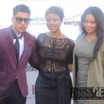 Quincy Brown, Brandice Henderson and Vanessa Simmons (Photo Credit: Naomi K. Bonman/WSS News)