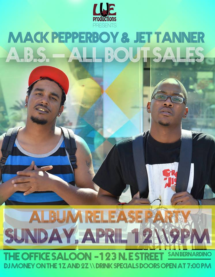 Mack Pepper Boy and Jet Tanner Album Release