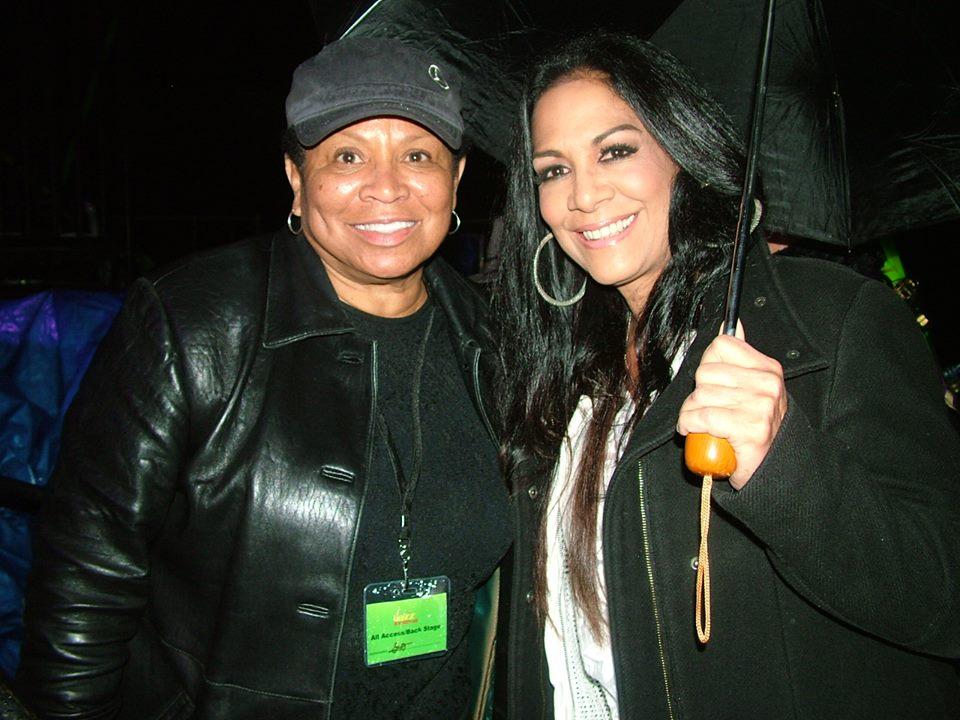 Mayor Robertson with Shelia E/Photo Courtesy of Lea Michelle Cash