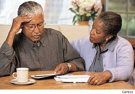 Older-Black-couple-ponder-Alzheimers-by-Corbis