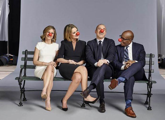 Today Show Supports Red Nose Day