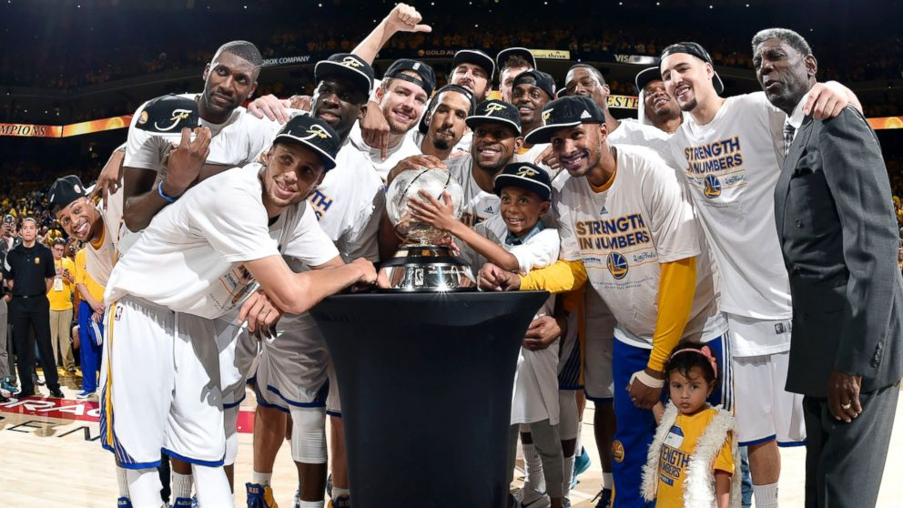 Warriors 2015 NBA Champs