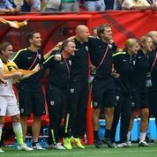 USA Soccer Coach sideline