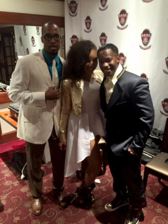 Comedian Jaye Devan, Singer Devyn Kelly and Willie Latimore