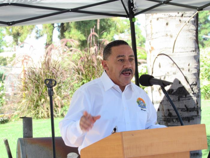Colton Mayor Richard A. DeLaRosa