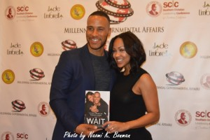 DeVon Franklin and Megan Good (Photo by Naomi K. Bonman)