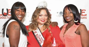 LUE Productions CORE members Lue Dowdy (left) and Deeveatva Foy (right) with BBW Winner