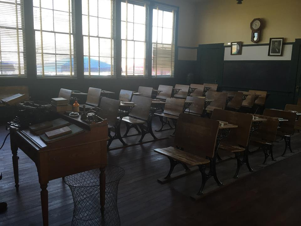 Allensworth's Schoolhouse- In 1912, Allensworth became California's first African American School District.