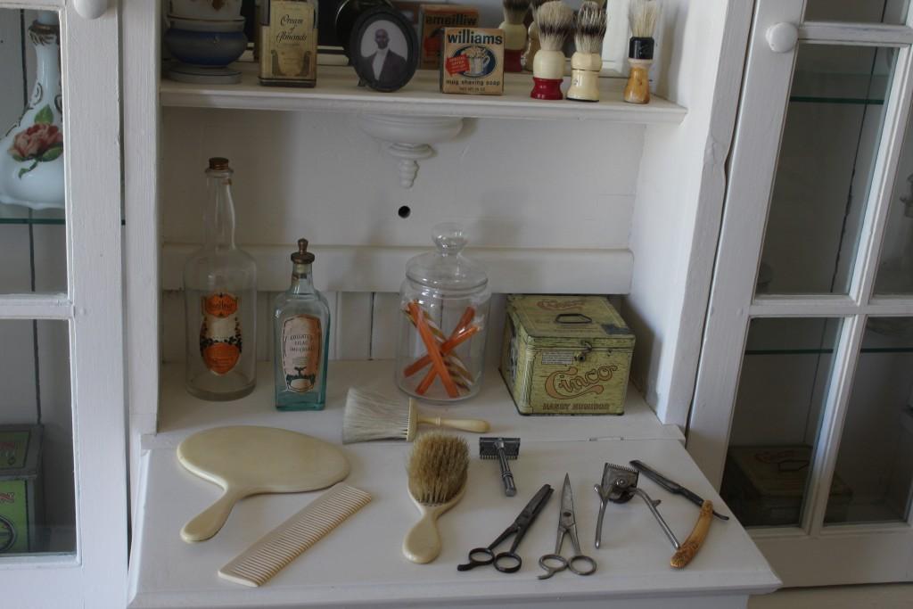 Milner Barbershop- Actual equipment used in 1911