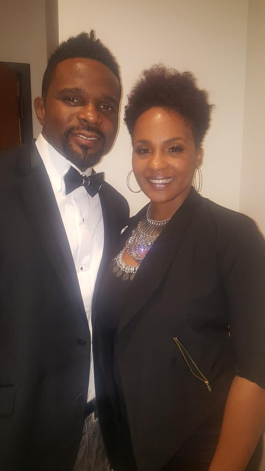 Darius McCrary and Aretha Scruggs