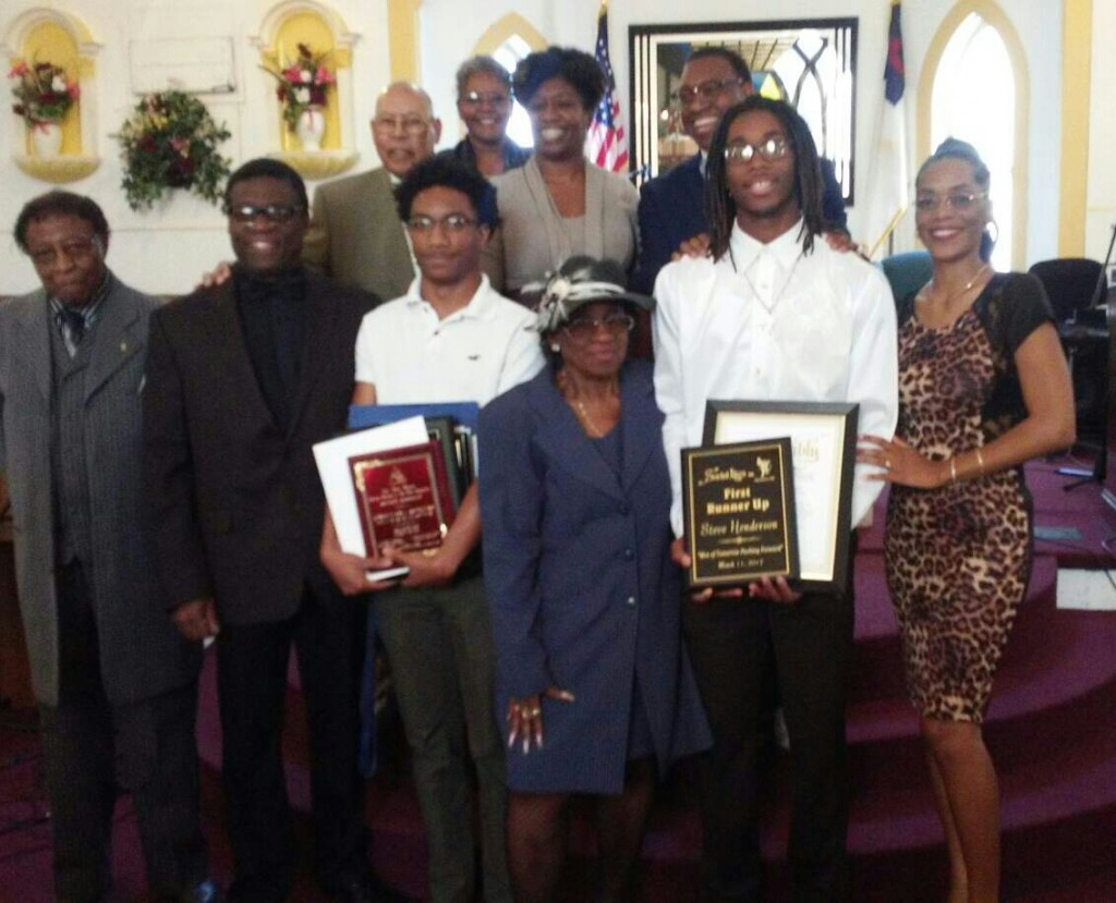 Bishop Ernest B. Dowdy, Jr.; Bishop Elijah Singletary; Elder Billy Dowdy; Pastor Gwendolyn Rodgers; Evangelist Paula Carrington; Juandretta Henderson; Momma Vashti Dowdy and Papa Ernest B. Dowdy Sr.