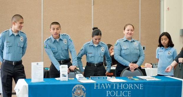 Hawthorne Police Dept.'s Law Enforcement Exploring Program (LEEP)