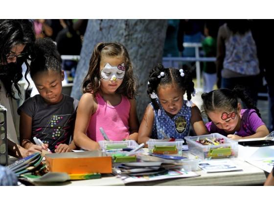 Children Enjoy Crafts 2016