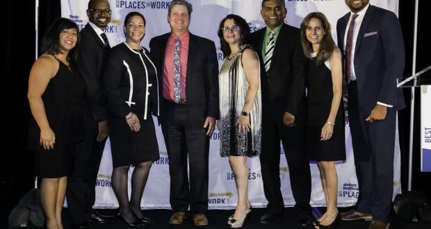 Representatives from LLU Behavioral Medicine Center gathered at Modern Healthcare's recognition dinner, Thursday September 28, in Las Vegas, NV.