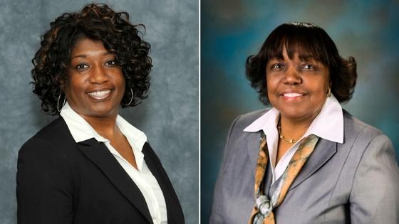 Gwendolyn Lorraine Dowdy and Dr. Judy D. White