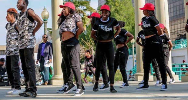 Dancers at 2nd Annual Black History Super Expo Celebration
