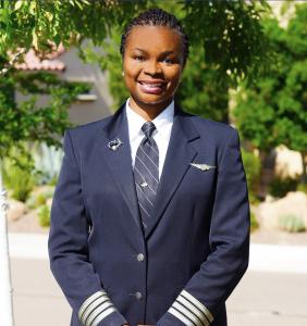 FedEx Airbus Captain and Line Check Airman Tahirah Lamont Brown